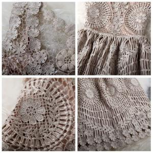 Vintage Embroidery Crochet Hollow O..