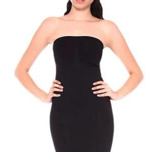 Seamless Strapless Tube Dress Skirt Body Shaper Shapewear